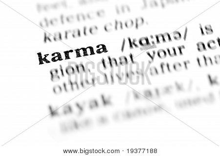 Karma (das Wörterbuchprojekt)