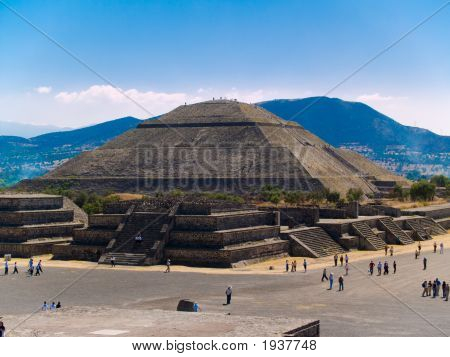 Teotihuacan-Piramide