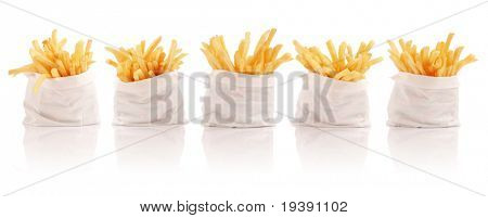 Five packs of french fries