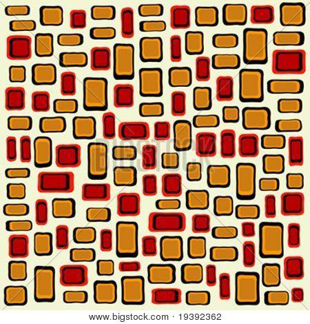 mit einem Stück kann gewebte Muster von 360 Grad verlängert werden