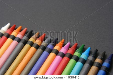 Crayons Against Black