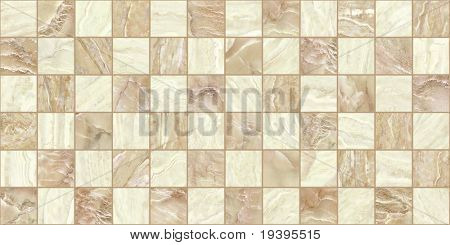 Marble mosaic texture background. (High res.)