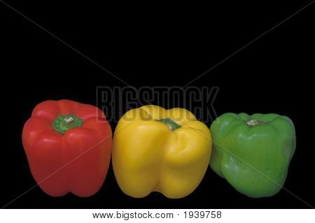 Stoplight Bell Peppers