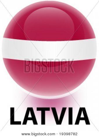 Orb Latvia Flag