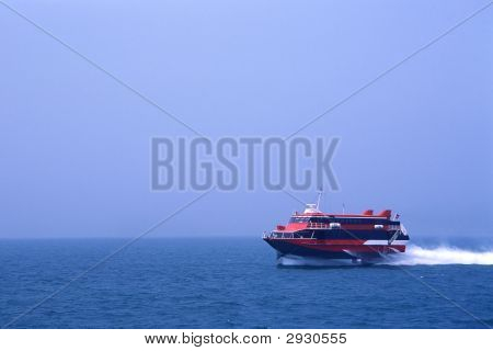 Red Blue Hydrofoil