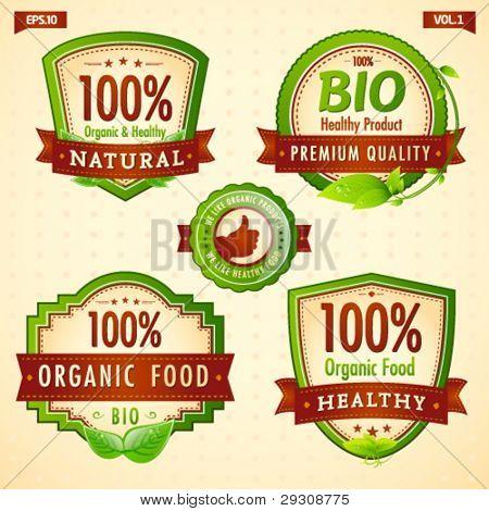 Natural eco bio green label collection vol. 1