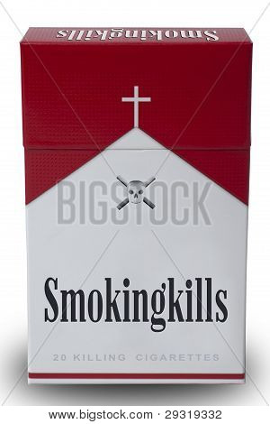 a Pack Of Smoking Kills