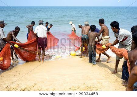 Sri Lankan Fishermans