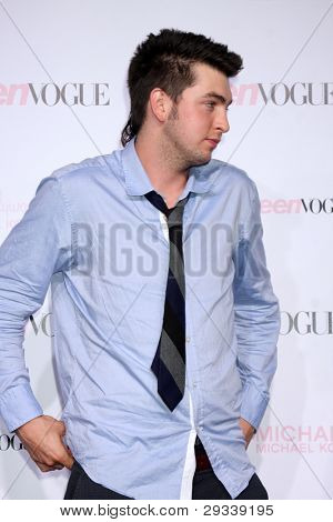 LOS ANGELES - OCT 1:  Nicholas Braun arrives at the 8th Teen Vogue Young Hollywood Party - Red Carpet at Paramount Studios on October 1, 2010 in Los Angeles, CA