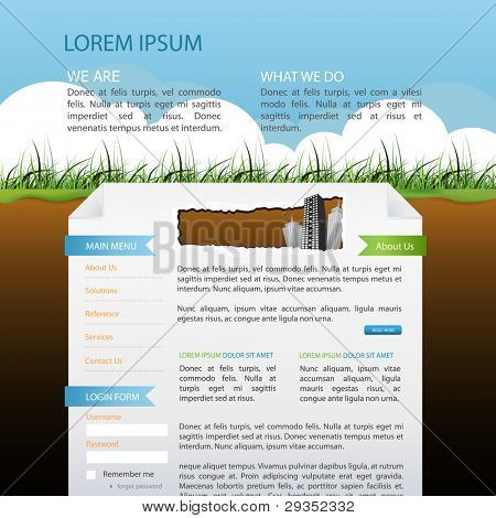 website company template