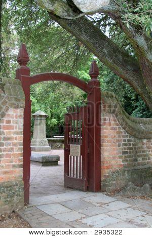Gate At Bruton Parish Church