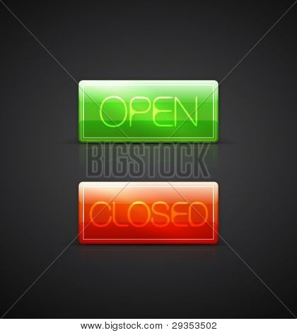 Vector open close plates