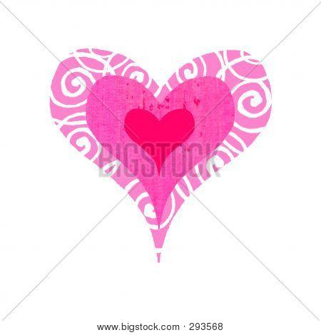 Groovy Heart - Bullseye