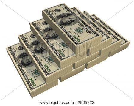 Dollars Pyramid