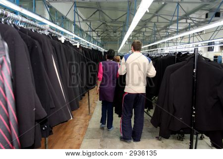 Textile Industry Interior