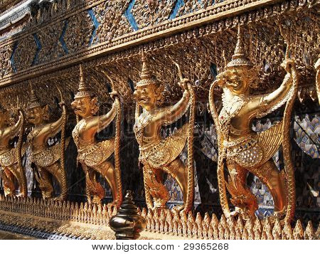 The Garuda at the Emerald Buddha Temple