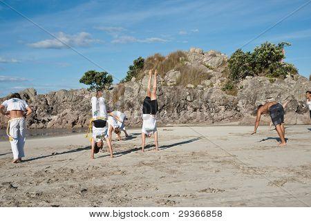 Capoeira.