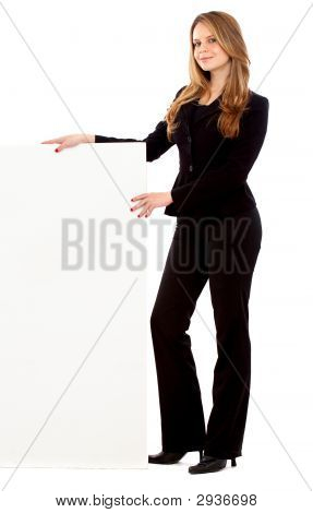 Business Woman - Banner Add