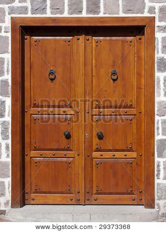 Puerta tradicional