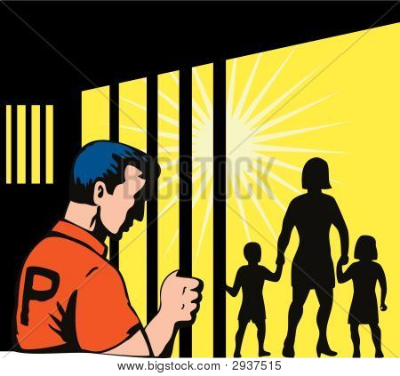 Prisoner And Family