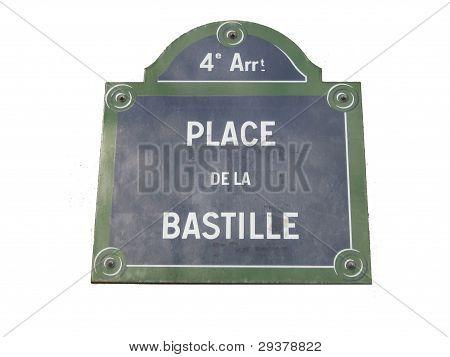 Place de la Bastille Revolution Française
