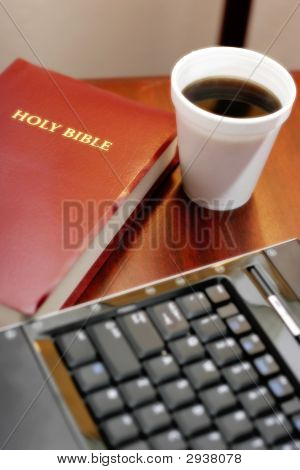 Bible Coffee Computer