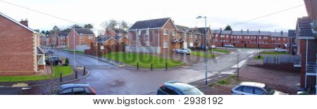 Housing Estate Panoramic
