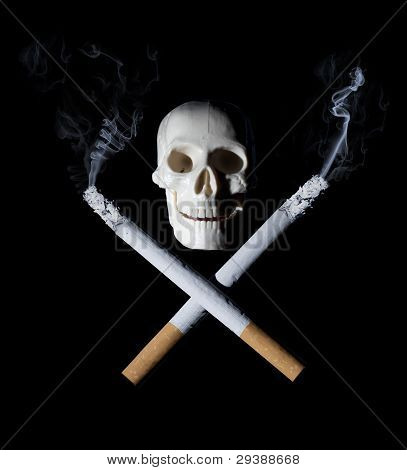 Cigarettes With Skull