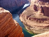 Colorado river and Horseshoe Canyon