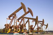 stock photo of big-rig  - oil well - JPG