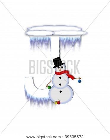 Alphabet Frosty J