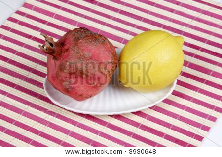 Pomegranate And Lemon