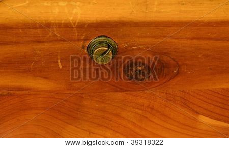 Old Cedar Chest Latch