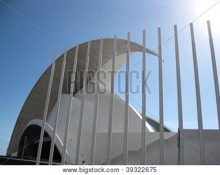 Opera house, Auditorio de Tenerife, Santa Cruz