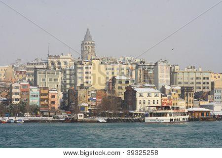 Istanbul, Karakoy in Winter