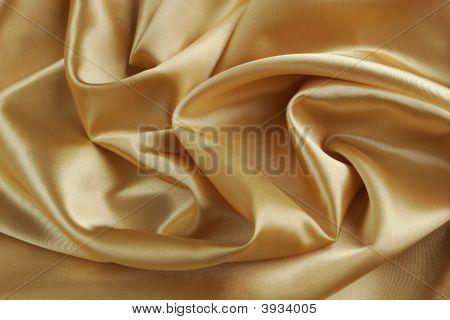 Gold Satin Background - Horizontal