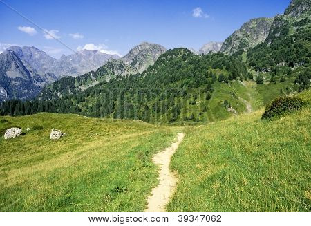 The Ecrins Valley The French Alps