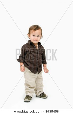 Toddler Boy Standing