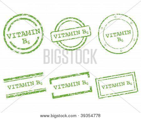 Vitamin B6 Stamps