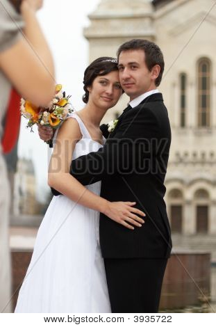 Taking Wedding Photo