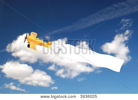 Airplane With Banner