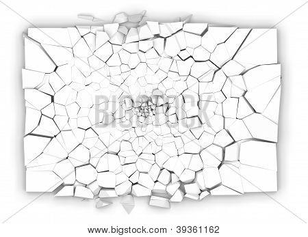 Broken Plate