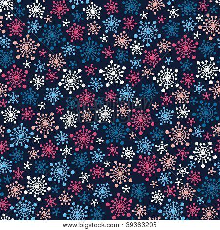 Snowflakes pattern