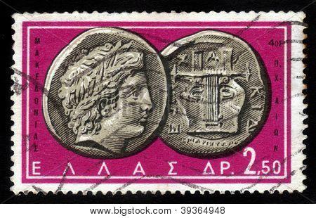 Apollo And Lyre Coin