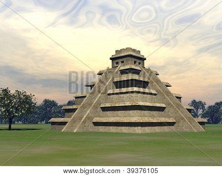 Maya Pyramid - 3D Render