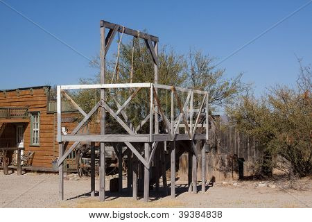 Gallows in Western Town