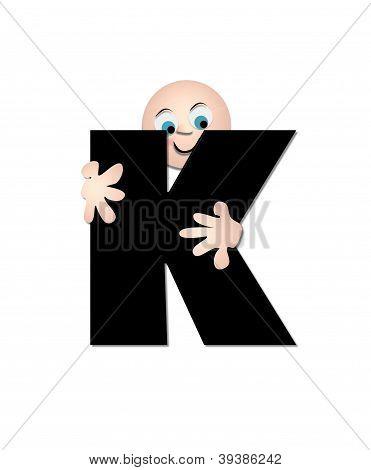 Alphabet Happy K
