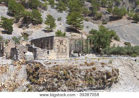 Samaria gorge, Crete island, Greece