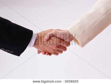 Handshake de negócios