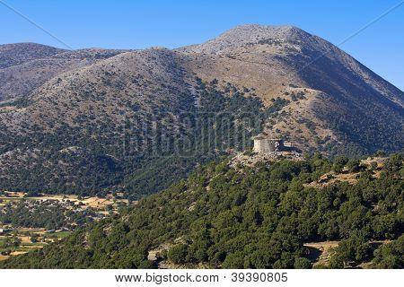 Landscape from Crete island, Greece